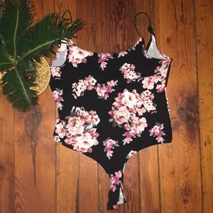 Poly & Esther Floral Bodysuit
